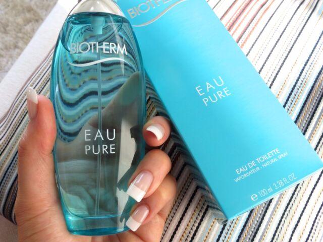 EAU PURE Natural Spray EDT Parfüm 100ml Neu in OVP Körperpflegeduft BIOTHERM