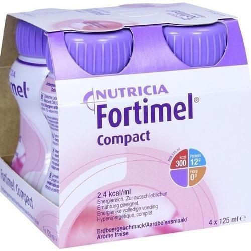 FORTIMEL Compact 2.4 Erdbeergeschmack 4X125 ml PZN 10743541