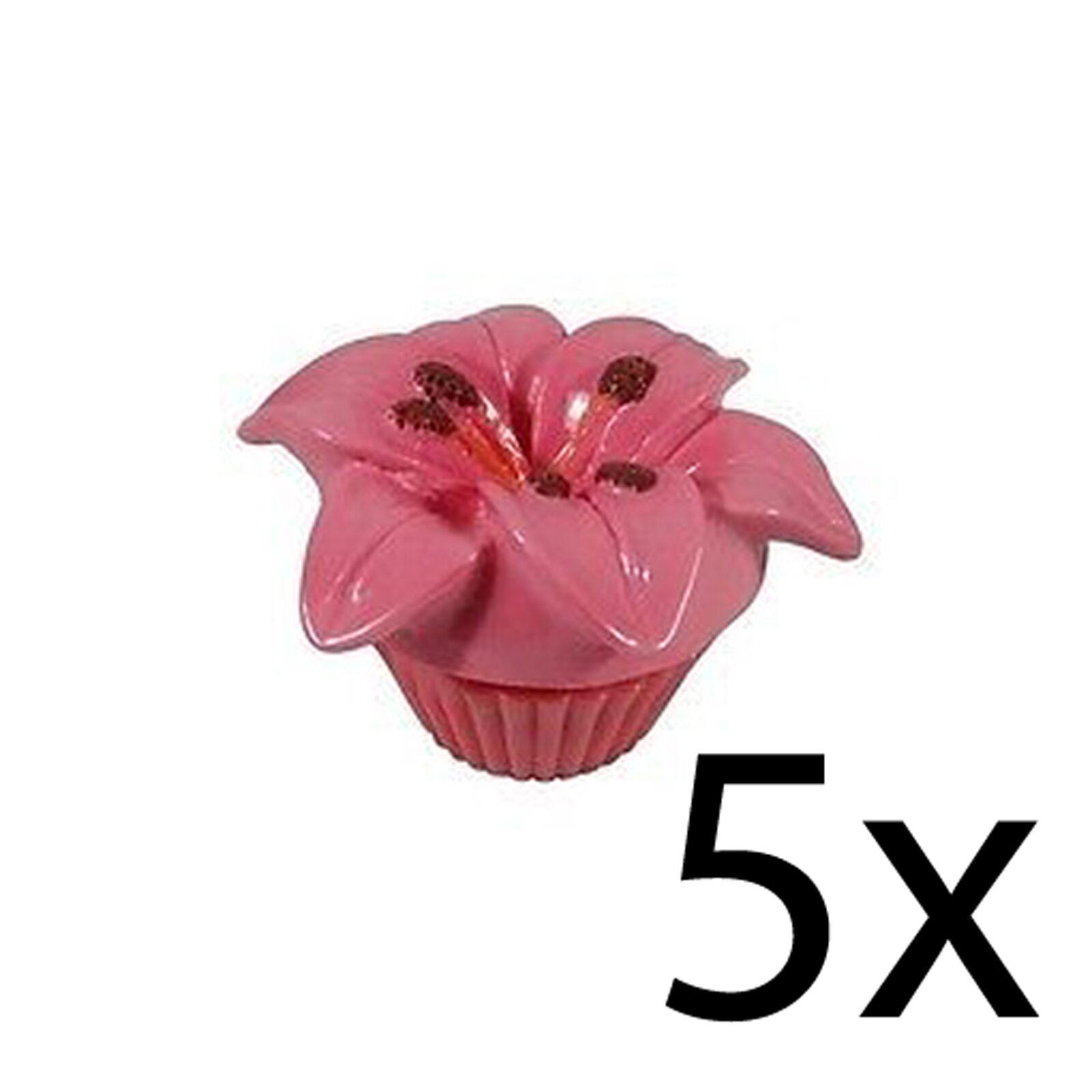 Lip balm flower scented floral gloss moisturising nourishing pot picture 1 of 1 mightylinksfo
