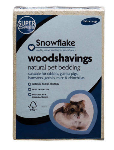 Snowflake Pet Woodshavings Extra Large XL Bedding 7 kg