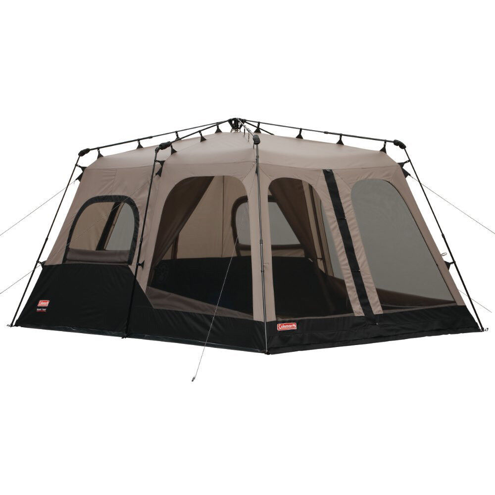 Coleman Large 8 Person 14u0027 x 10u0027 Weathertec Instant Set Up Outdoor C&ing Tent  sc 1 st  eBay & 8 Person Tent | eBay