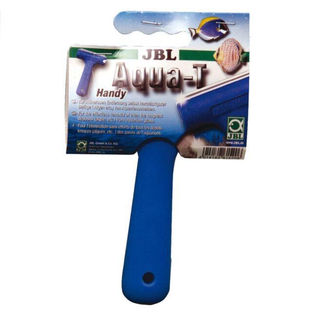 JBL Aqua-T Handy - Scheibenreiniger Aquarium Schaber Klingenreiniger Algen