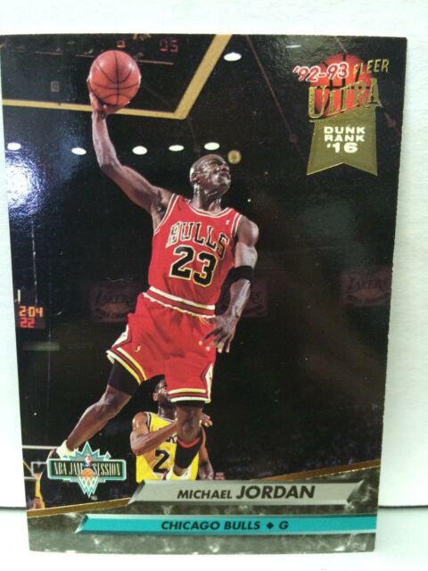 1992 - 1993 Fleer Ultra Michael Jordan Chicago Bulls #216 Basketball Card