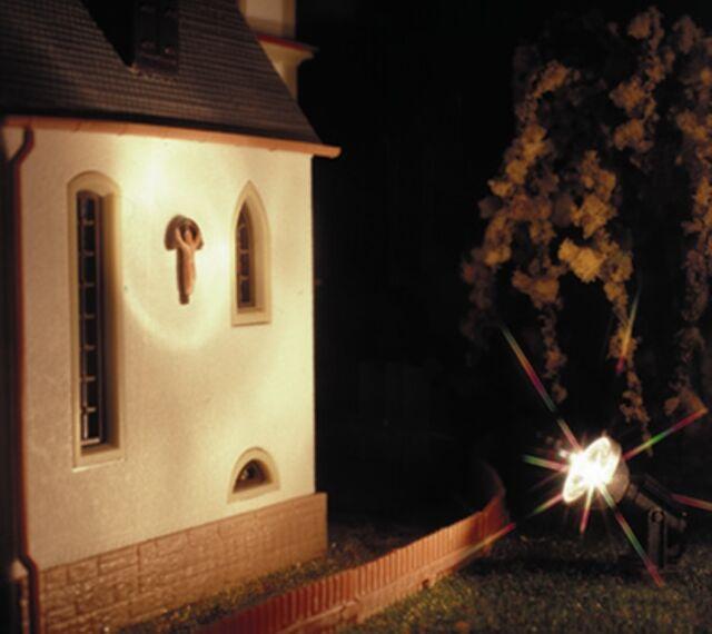 SH Viessmann 6330 Flutlichtstrahler nieder  LED