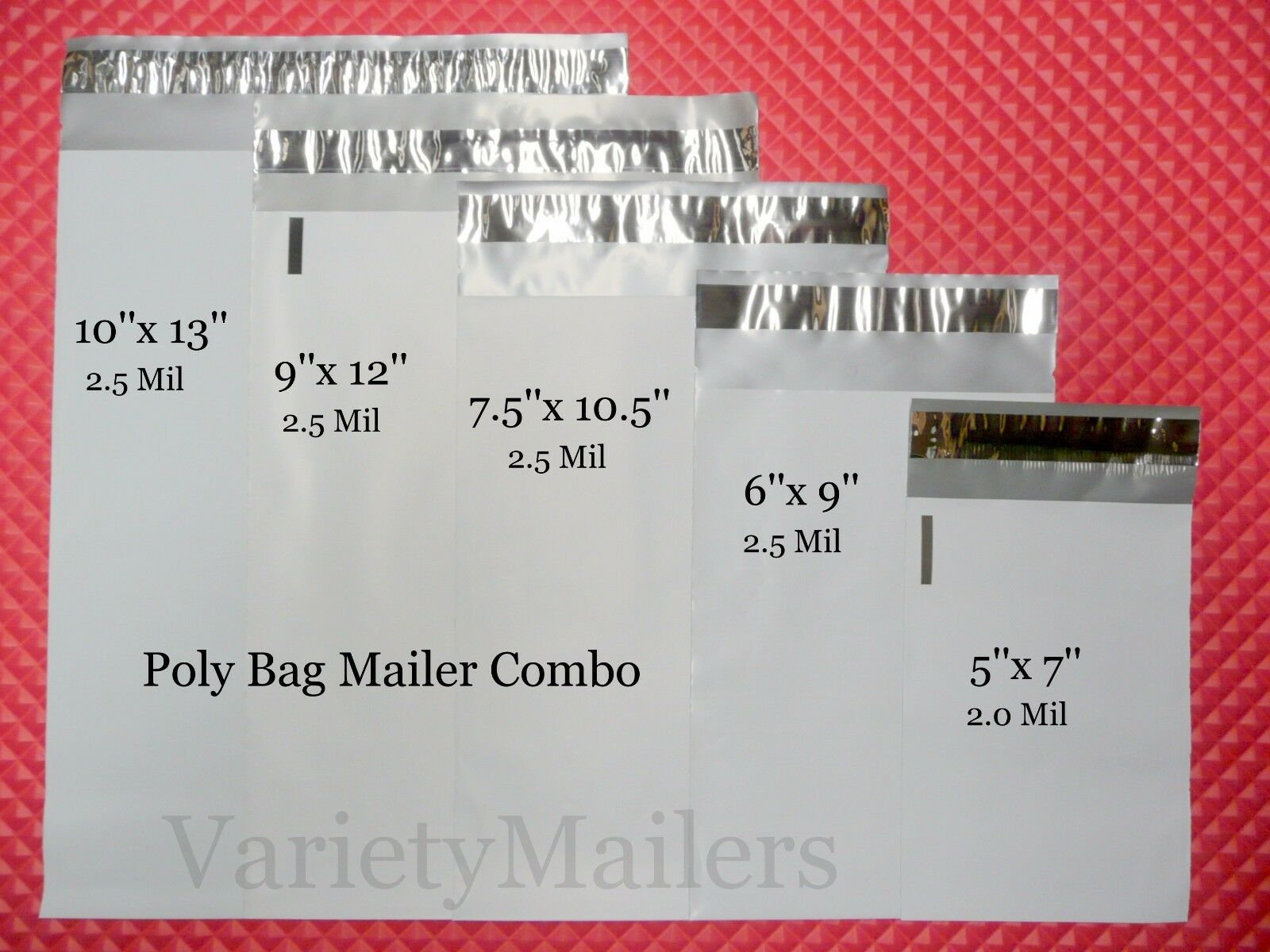 mailing envelope sizes