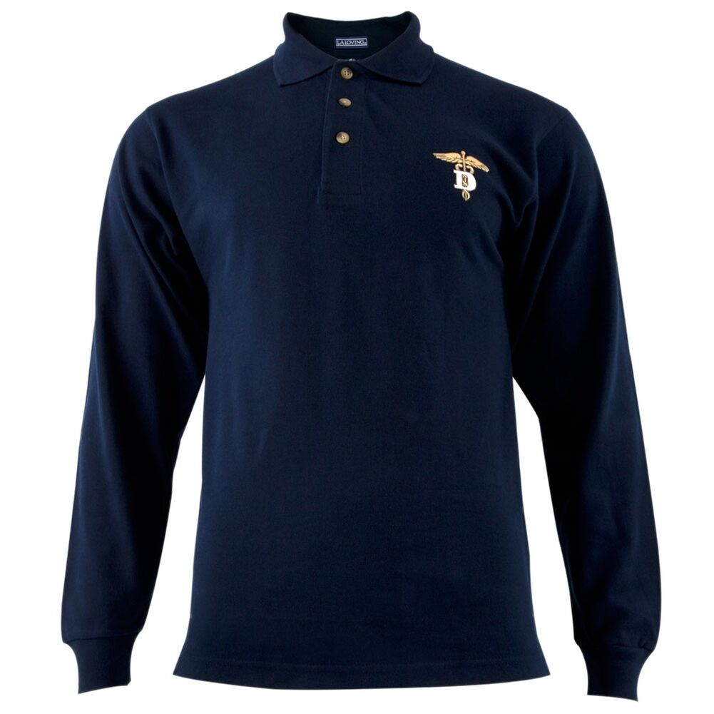 Dentistry caduceus symbol navy adult polo t shirt md ebay picture 1 of 1 biocorpaavc