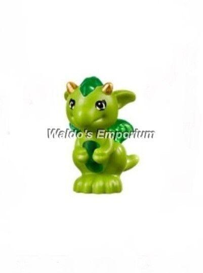 Lego Elves Minifigure Floria The Baby Dragon Lime Green 41177   eBay