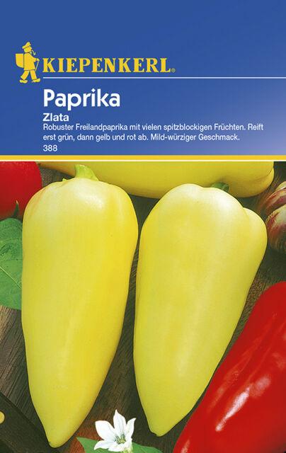 Paprika * Zlata * mild-würzig MHD 01/20 Kiepenkerl 388