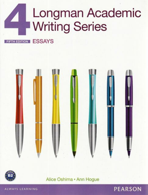 LONGMAN ACADEMIC WRITING SERIES 4 Paragraph to Essays FIFTH ED Student Book @NEW