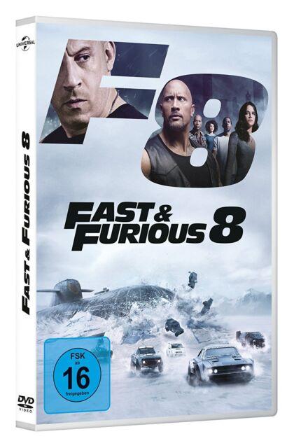FAST AND FURIOUS 8 KOMPLETTE STAFFEL 8 FAST & FURIOUS DVD DEUTSCH