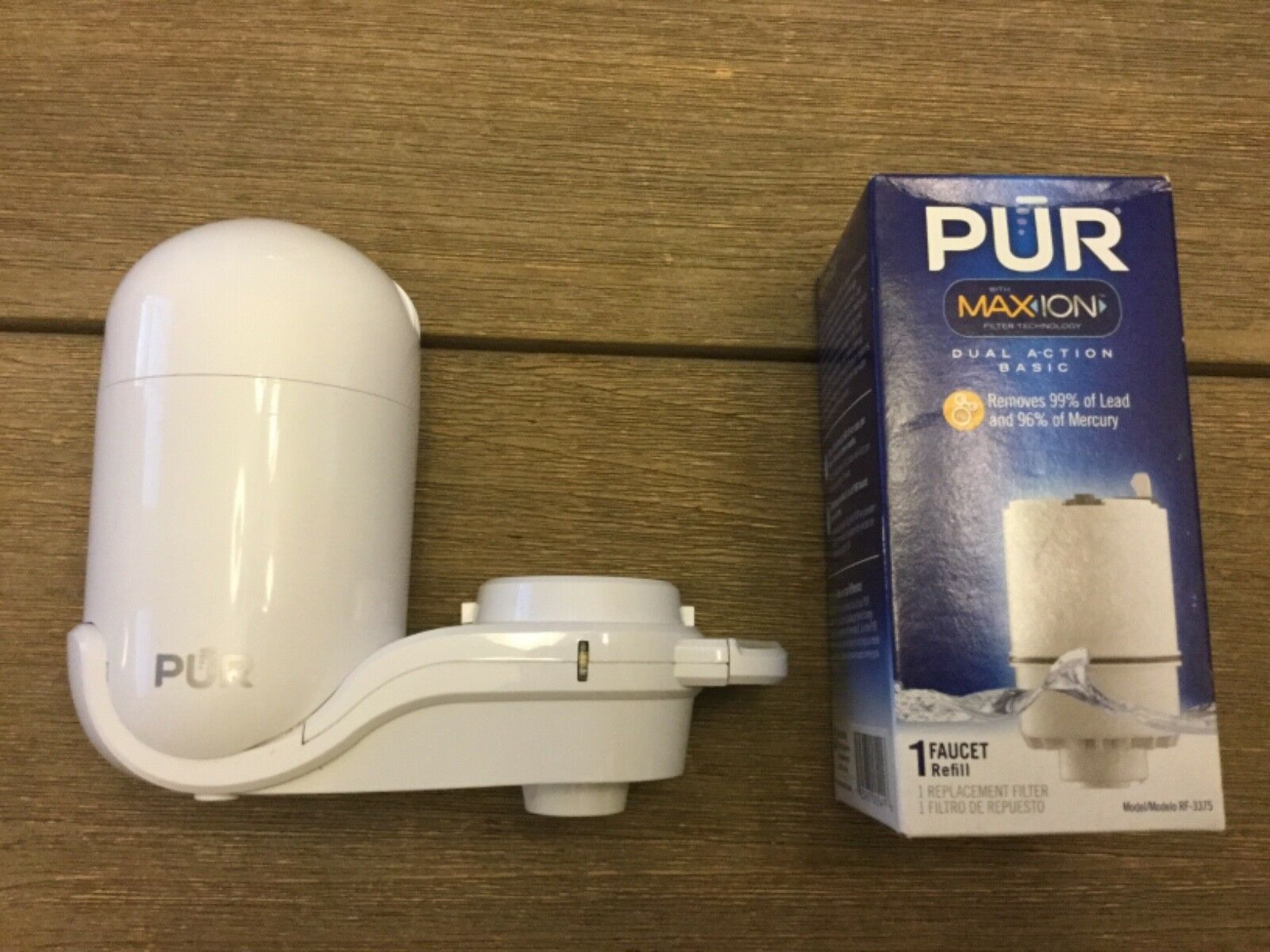 PUR MAXION Filter Technology Faucet Filtration System Classic ...