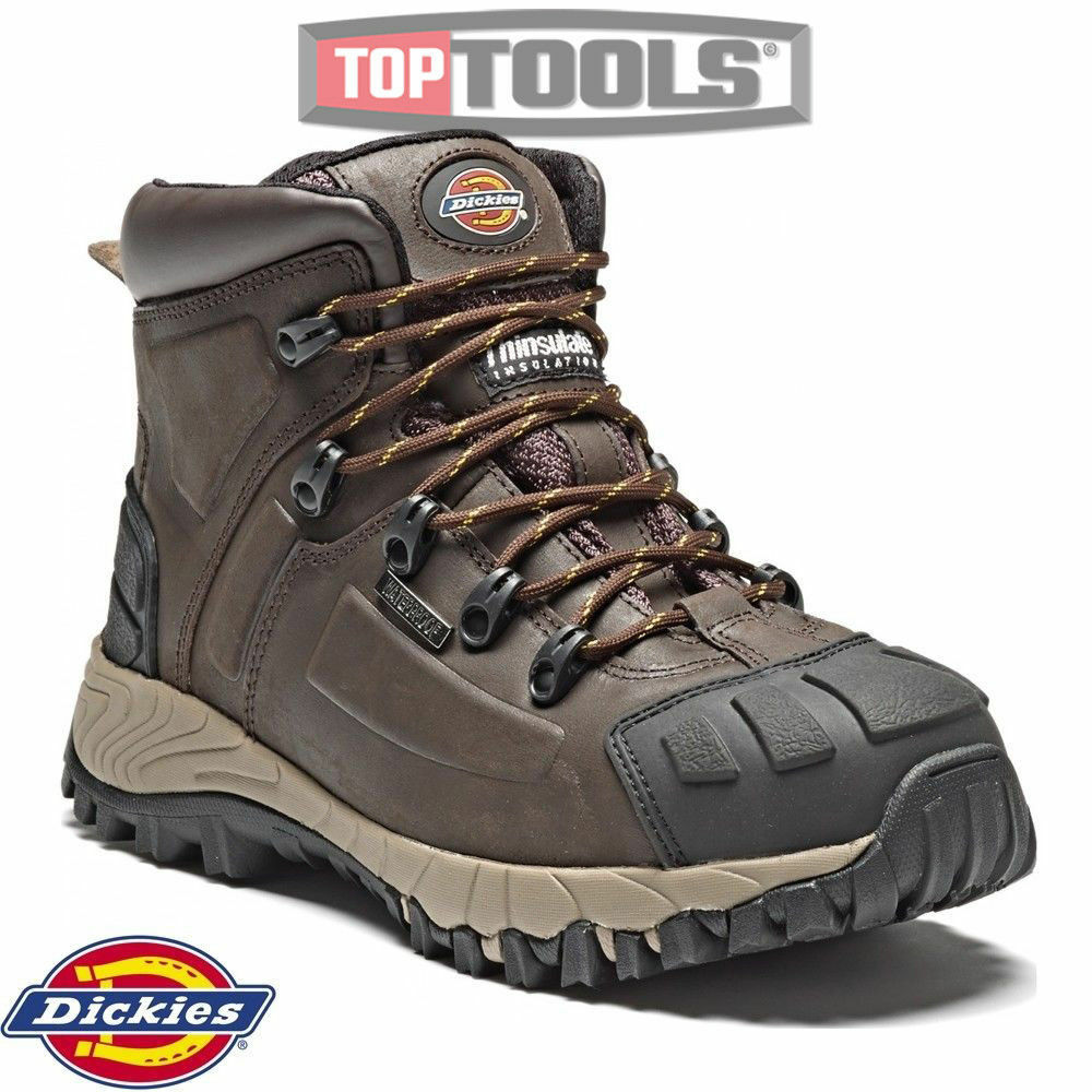 Dickies FD23310 Medway Marrón Safety Botas Thinsulate Steel Toe Leather Marrón Medway Talla - 9 e85d99