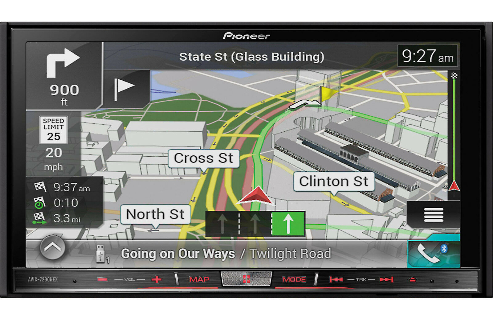 s l1600 pioneer navigation video in dash units w gps ebay  at gsmportal.co