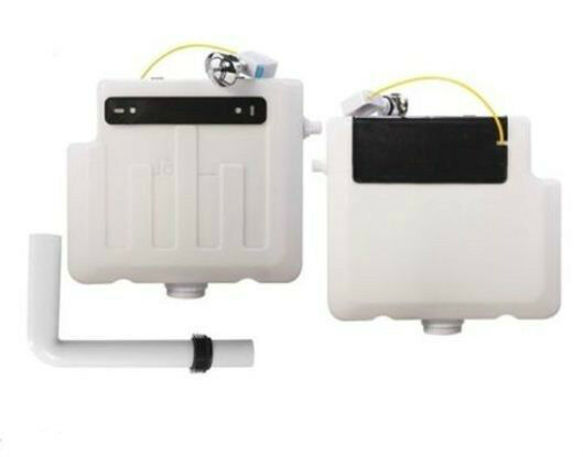 CONCEALED CISTERN DUAL FLUSH, TOP & FRONT ACCESS