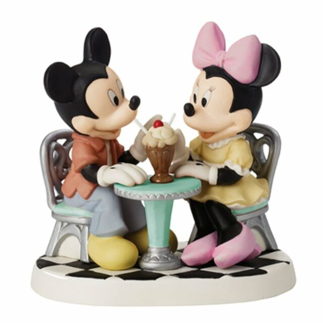 Life Is so Sweet With You Precious Moments Figurine Mickey Minnie ...