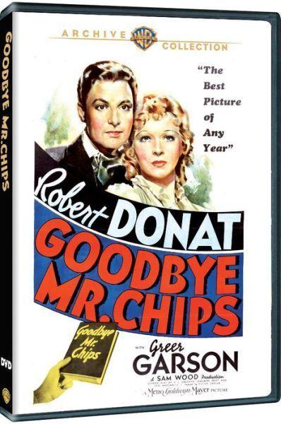 GOODBYE MR. CHIPS - (1939 Greer Garson) Region Free DVD - Sealed