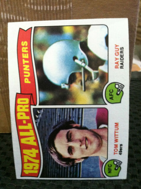 1975 Topps # 224 1974 ALL-PRO Punters..........NM/MT  ...............RF1666