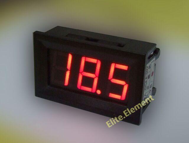 Mini DC 0-999mA 1A Ampere Amp Current Meter Ammeter Milliammeter Red LED GZ