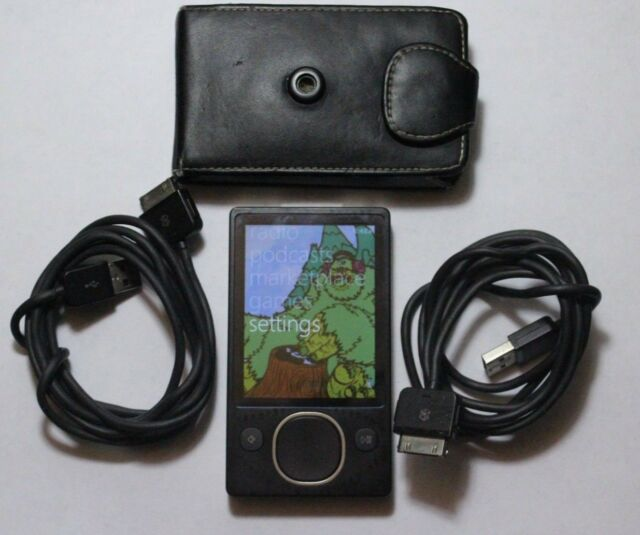 Microsoft Zune Black ( 80 GB ) Digital Media Player - Tested and Lightly Used