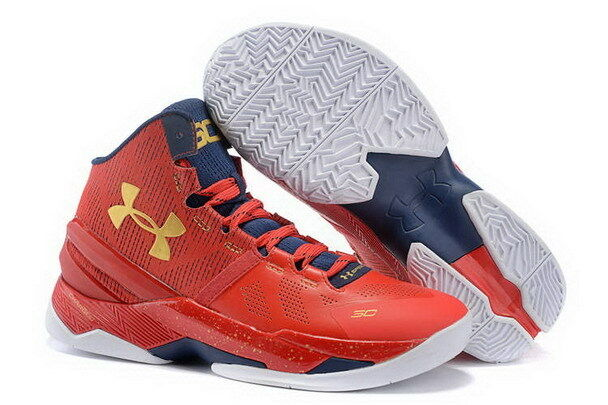 Under Armour Curry 2 Men's Basketball Shoes General Red 1259007 601 Size  11.5