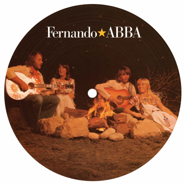 "ABBA FERNANDO LIMITED EDITION 7"" PICTURE DISC 40th Anniversary (2016)"