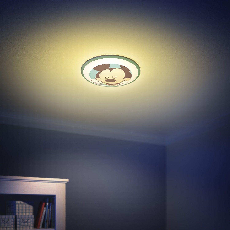 philips mykidsroom disney mickey mouse ceiling light multi colour