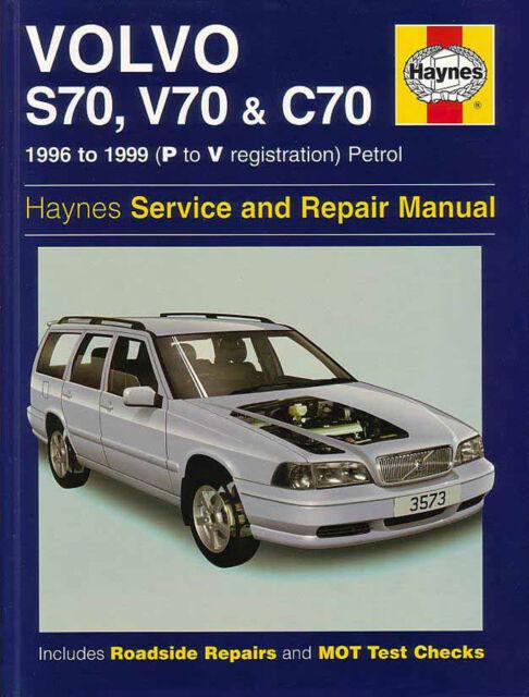 volvo s70 v70 c70 service and repair manual ebay rh ebay com 1999 Volvo V70 1999 Volvo Sedan