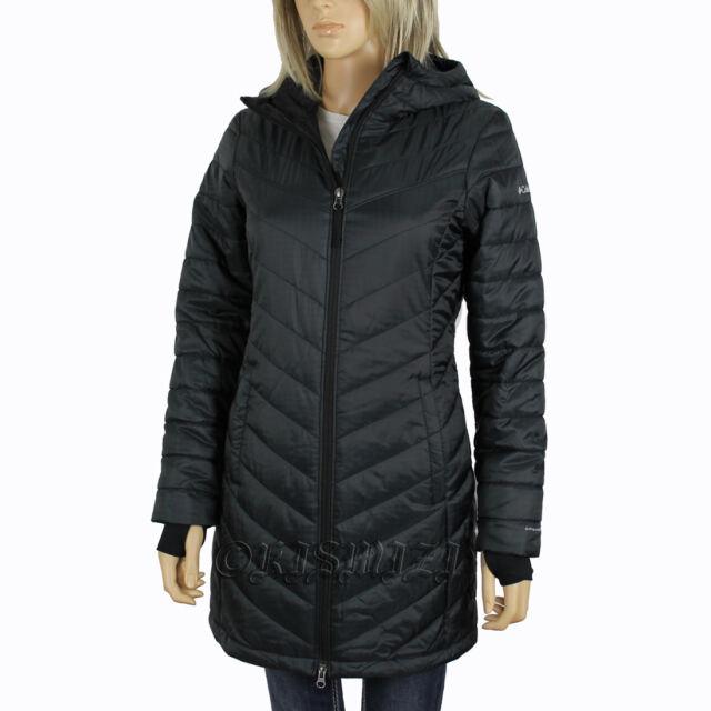 Womens Columbia Morning Light II Omni Heat Long Winter Jacket Coat ...