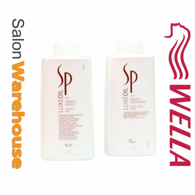 Wella SP Luxe Oil System Professional Shampoo And Conditioning  1litre