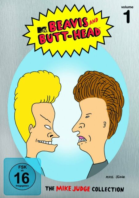 Beavis and Butt-Head: The Mike Judge Collection Vol 1 * 3-Disc Region 2 (UK) DVD