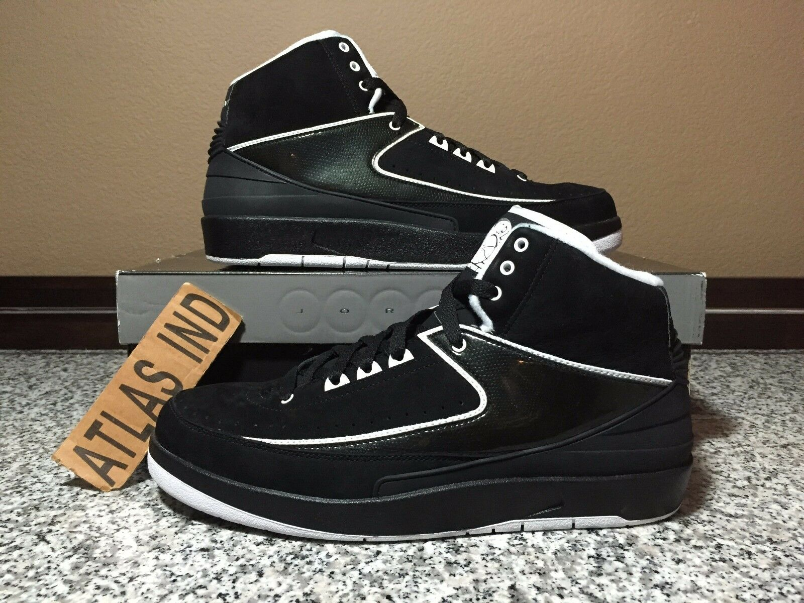 brand new b4146 9031d ... best price air jordan 2 retro qf black white nike ii 1 3 4 11 12 promo  code ...
