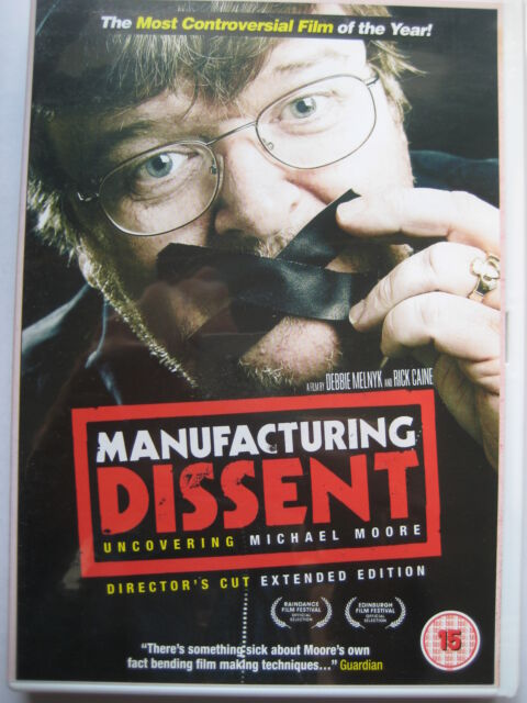 Manufacturing Dissent: Uncovering Michael Moore (DVD, 2007) NEW SEALED PAL
