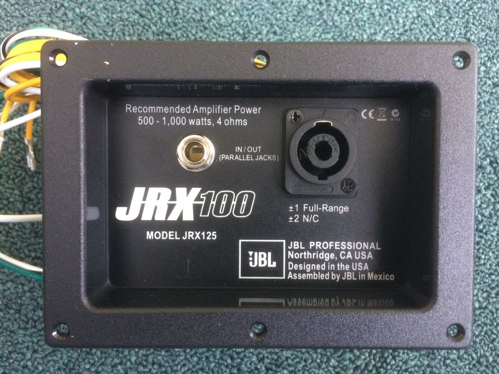 Jbl Jrx125 Crossover Wire Diagram 33 Wiring Images