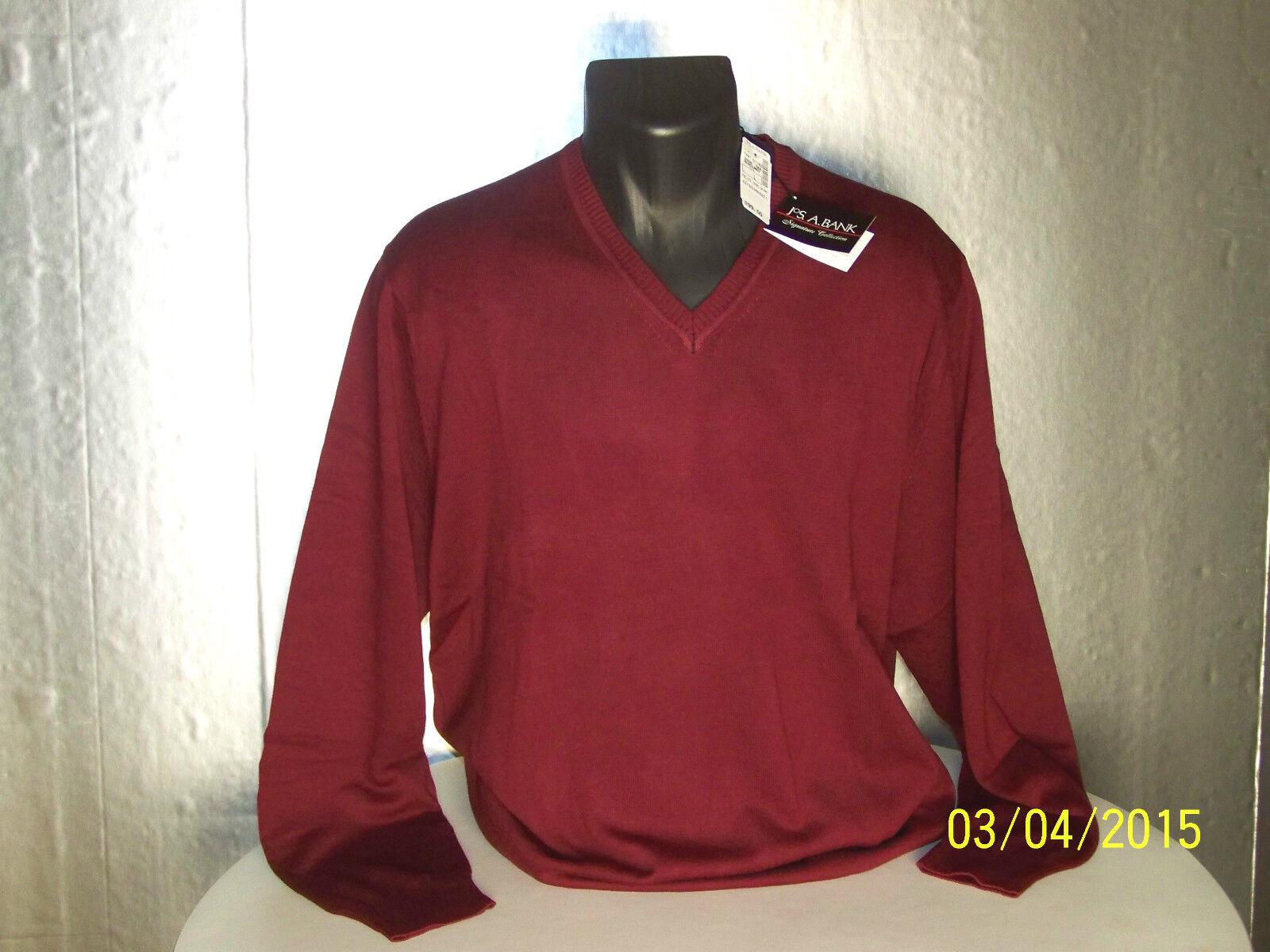 Jos. A. Bank 100 Pima Cotton V Neck Sweater Signature - Choose ...