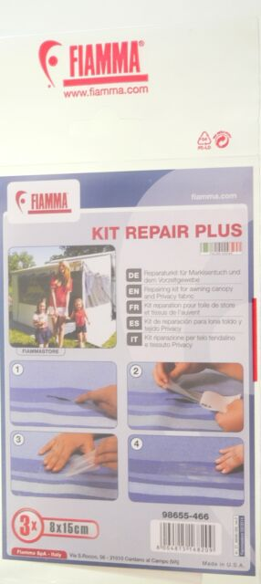 fiamma repair kit plus reparatur set f r markise ebay. Black Bedroom Furniture Sets. Home Design Ideas