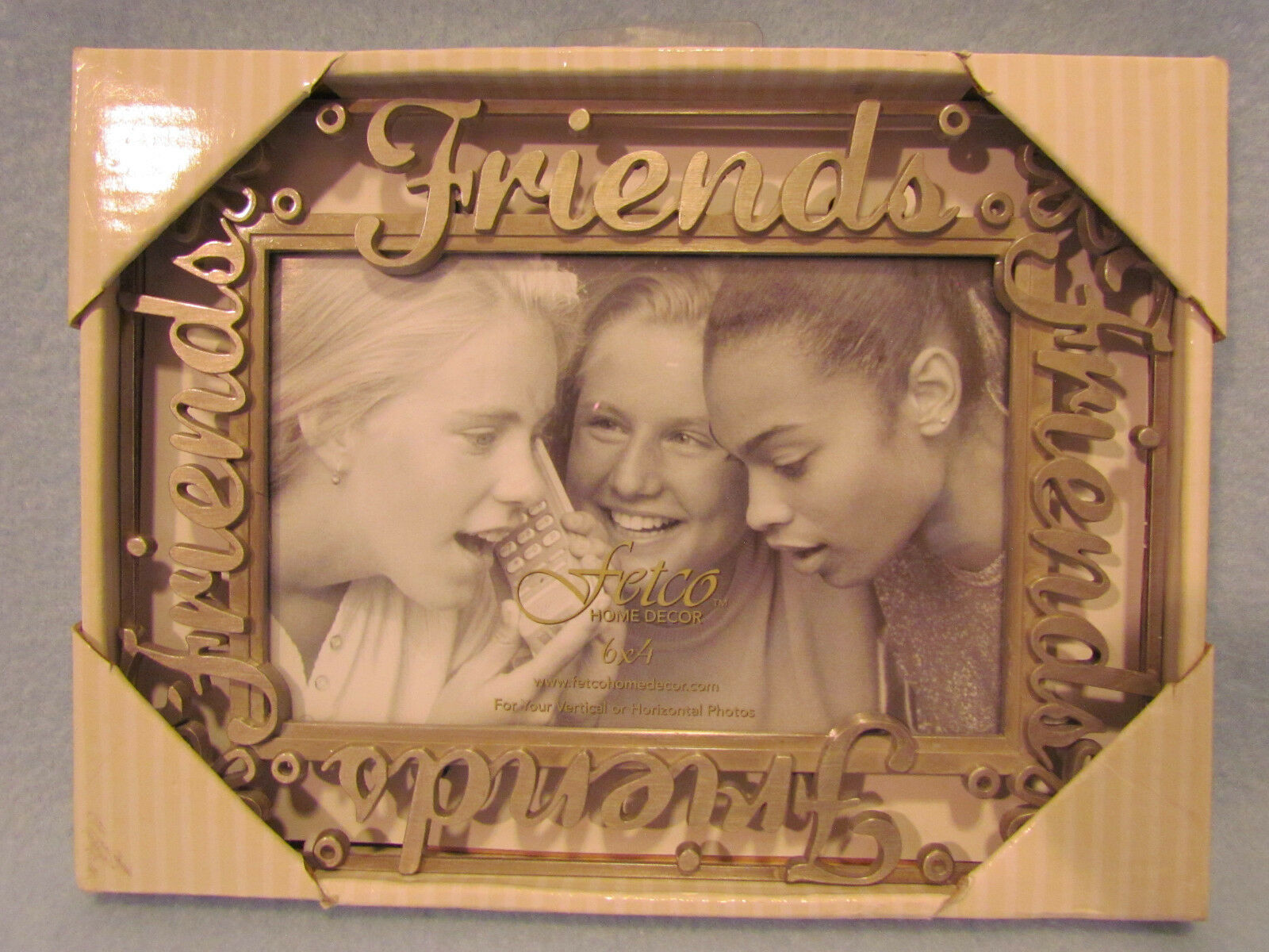 Fetco home decor friends metal pewter 4x6 picture photo frame brand new lowest price jeuxipadfo Gallery