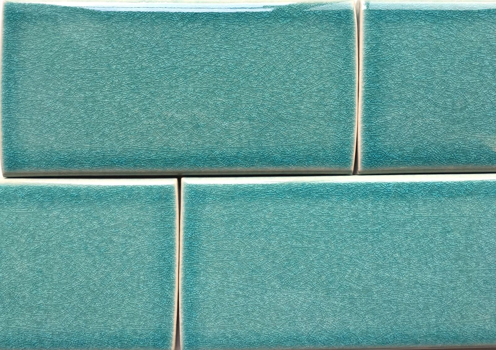 3x6 turquoise handmade glossy finish crackled ceramic tile wall resntentobalflowflowcomponentncel dailygadgetfo Image collections