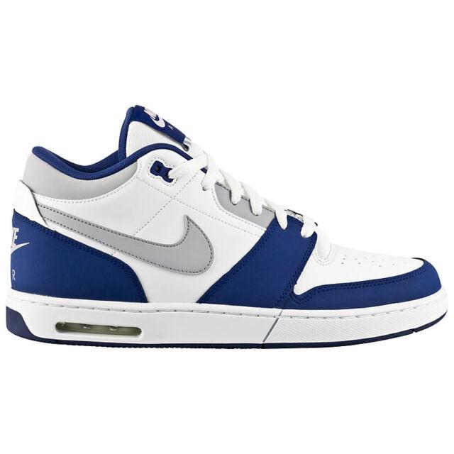 Nike Air Max stepback BIANCOBLU Sneaker Mid Uomo Scarpe da ginnastica Mid Sneaker Casual dce7e4
