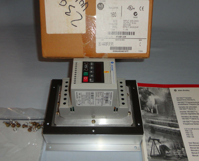 Allen Bradley 160-aa08psf1p1 Speed Controller 160AA08PSF1P1 Control ...