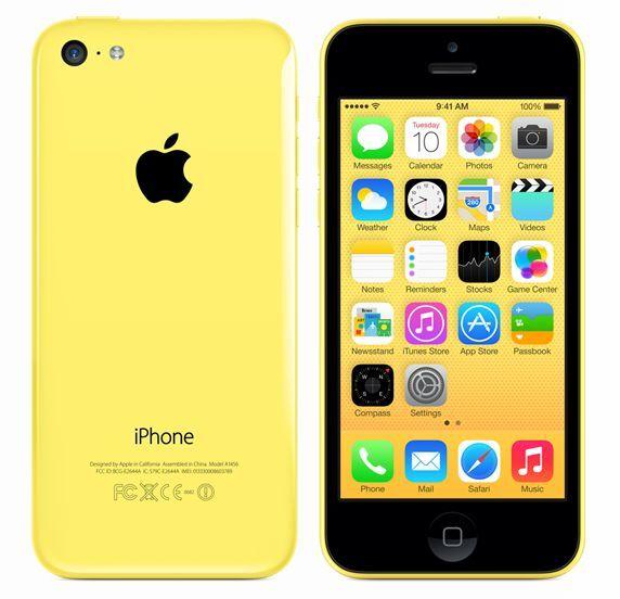 APPLE IPHONE 5C 8GB GIALLO  GRADO B + ACCESSORI + GARANZIA - RICONDIZIONATO