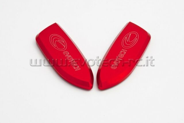 EVOTECH Rearview mirror covers, Gems of the Wind RED  BMW S1000 RR (2009-2015)