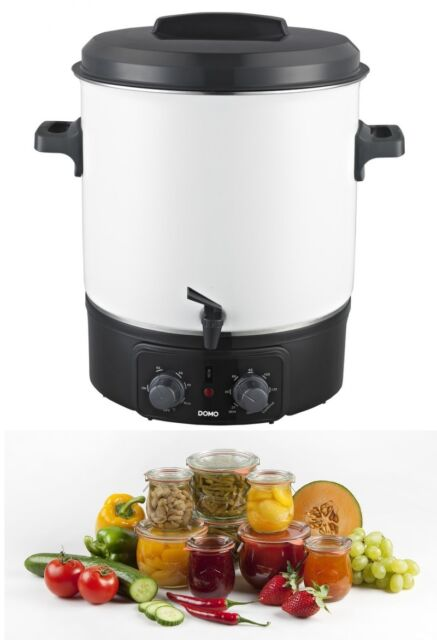 Domo DO322W Einkochautomat Glühweinspender Einkochgerät  27 Ltr. 1800 Watt