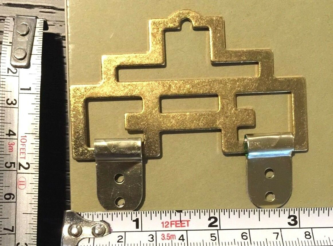2 Metal Chinese Antique Frame Art Gold Wall Hangers G4 Picture | eBay