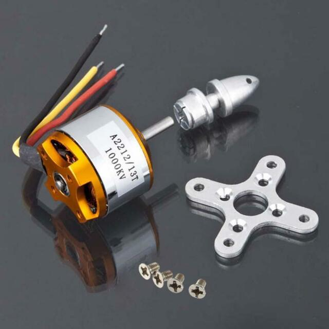 A2212 1000KV Brushless Outrunner Motor For Airplane Aircraft Quadcopter NEW DI