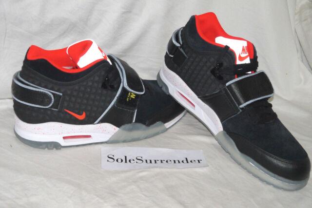 Nike Air Trainer Victor Cruz QS - SIZE 9.5 - NEW - 821955-001 Black