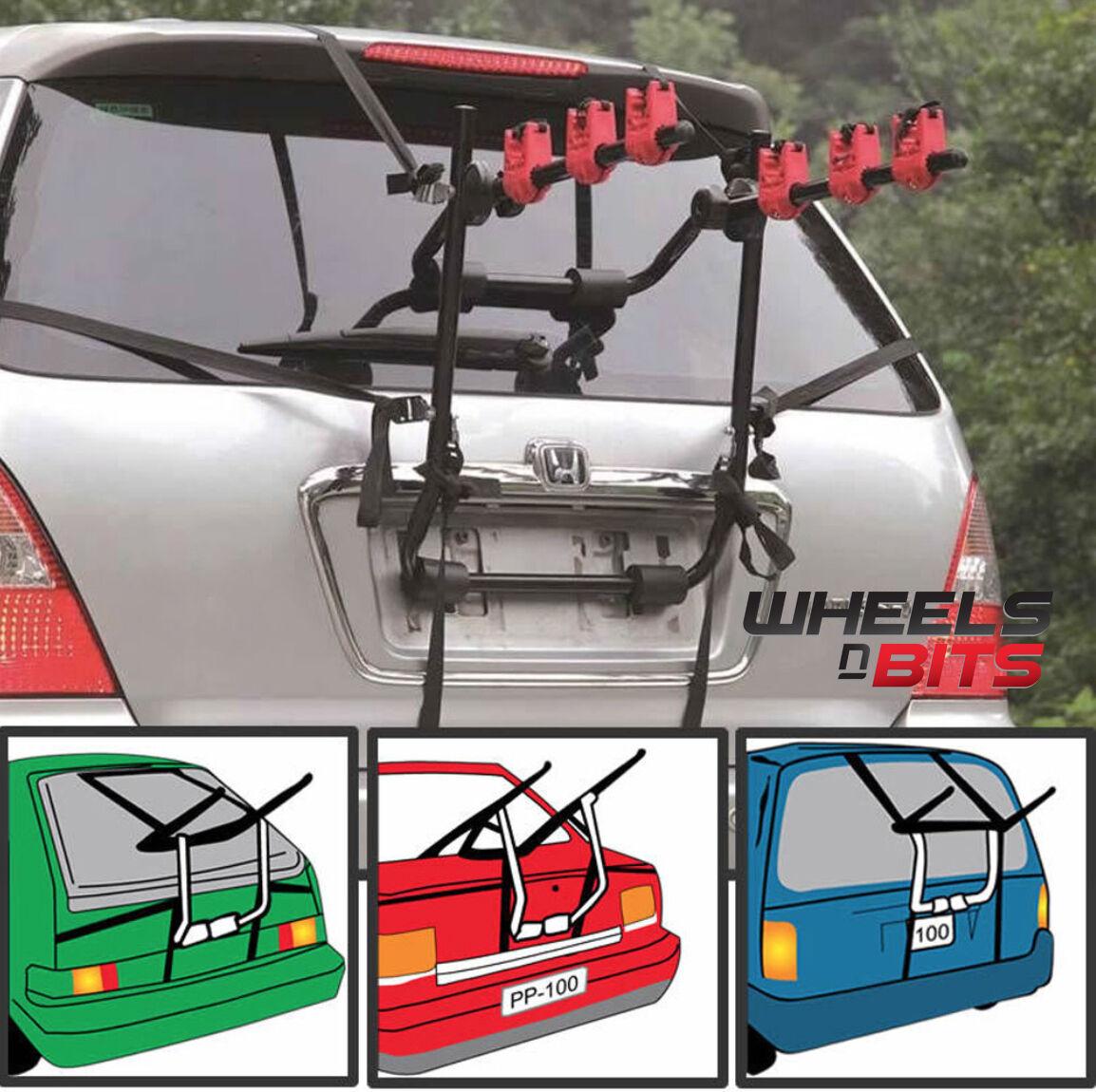 Wheels N Bits 3 Bicycle Carrier Car Suv 4x4 Rack Bike Cycle