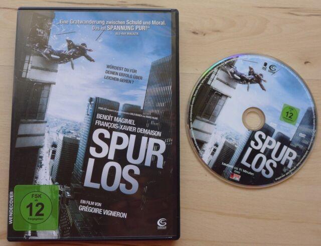 Spurlos DVD 2011 - Würdest du für den Erfolg über Leichen gehen? - wie neu !!