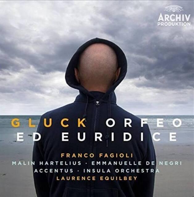 GLUCK Orfeo Ed Euridice Franco Fagioli 3CD Box 2015 Deutsche Grammophon * NEW