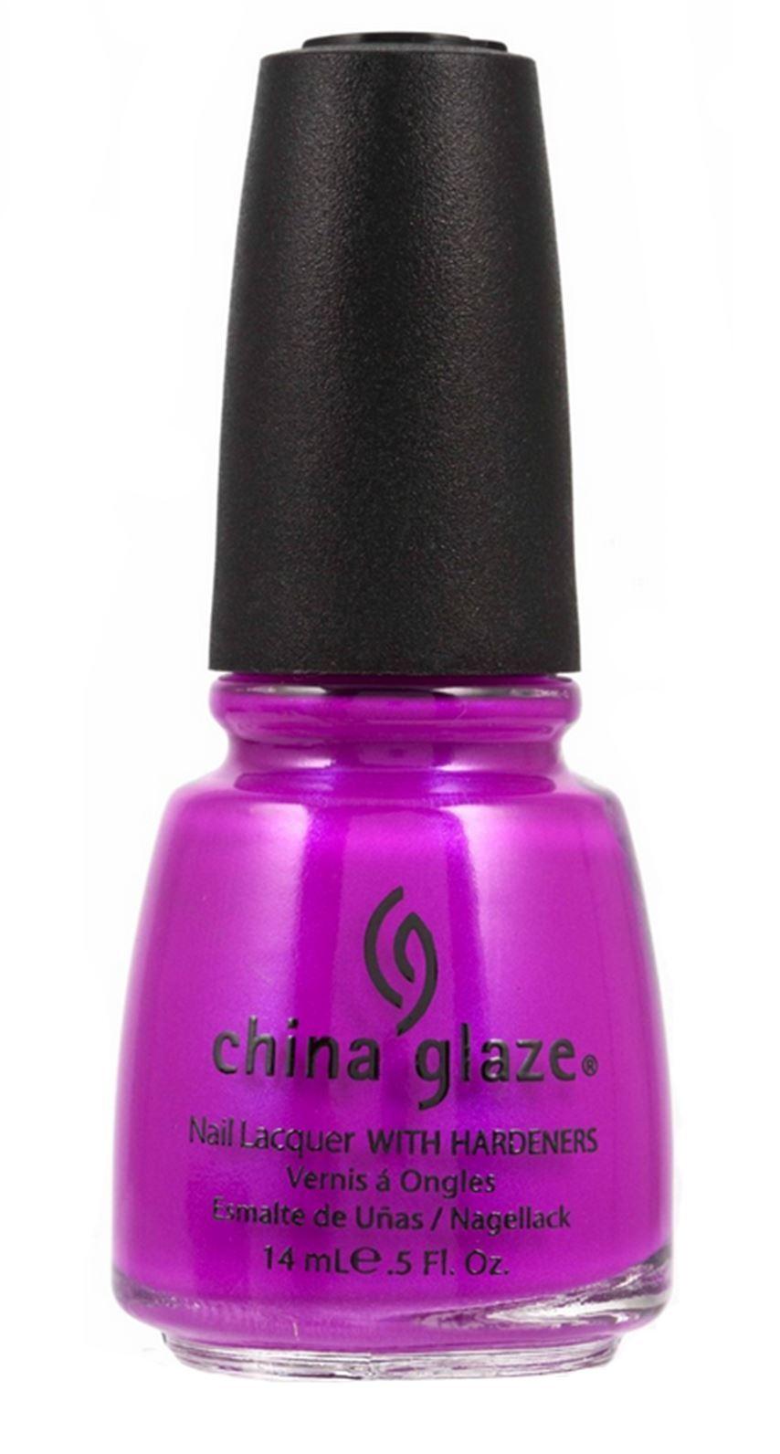China Glaze Nail Polish Lacquer Purple Panic 5oz 70290