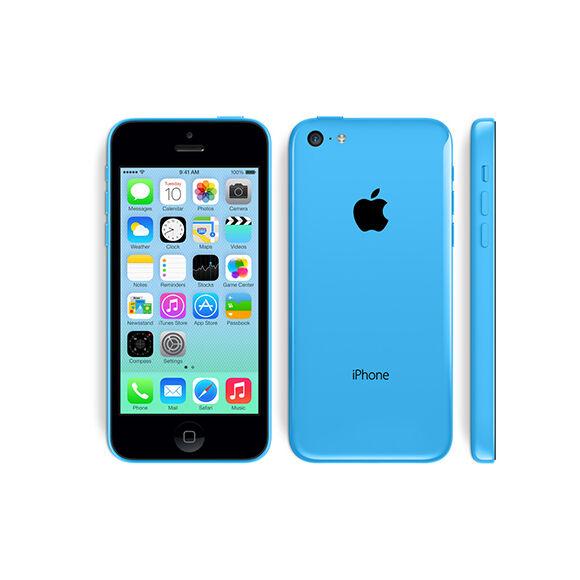 APPLE IPHONE 5C 32GB CELESTE GRADO A/B CON ACCESSORI SMARTPHONE RICONDIZIONATO